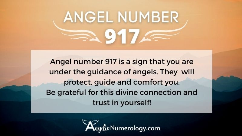 Angel Number 917 Meaning