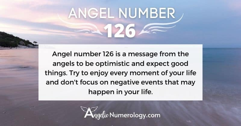 Angel Number 126 Meaning