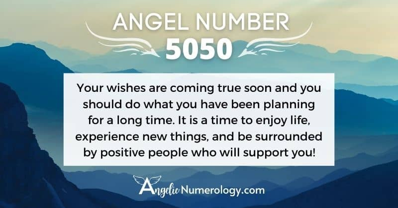 5050 Angel Number Meaning
