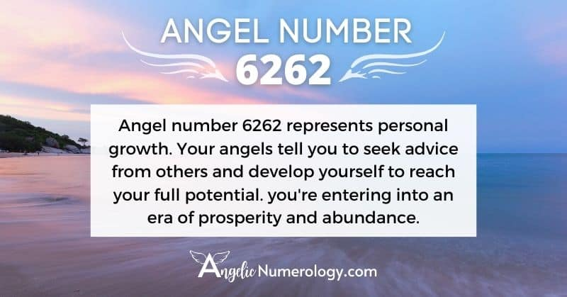 6262 Angel Number Meaning