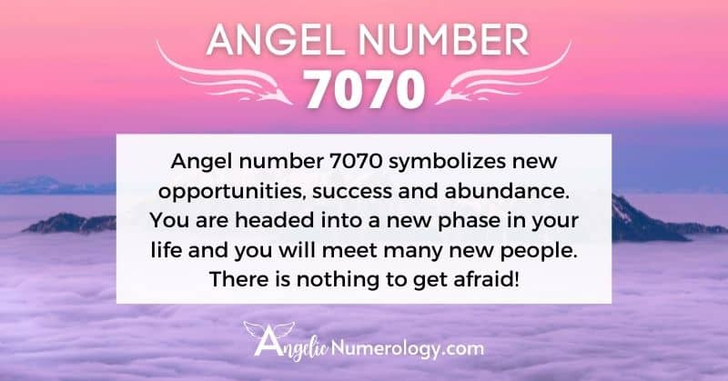 7070 Angel Number Meaning