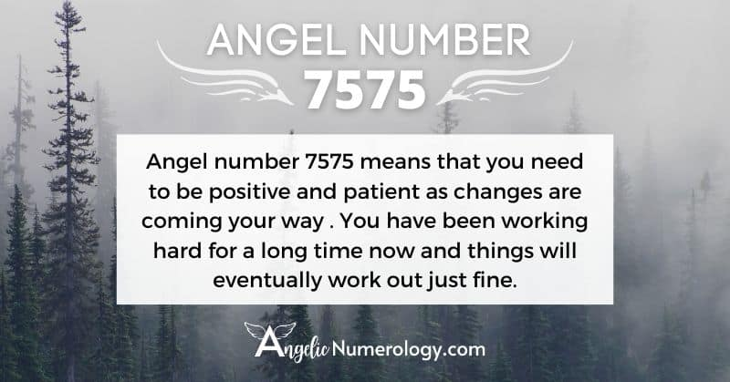 7575 Angel Number Meaning