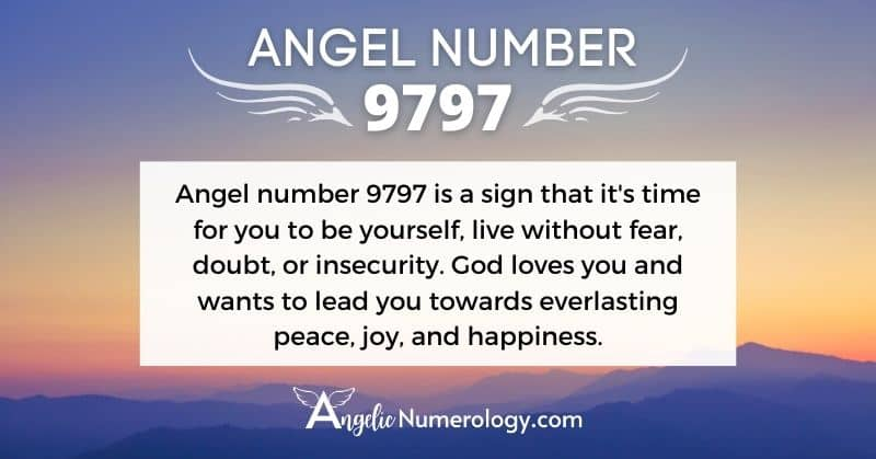 9797 Angel Number Meaning