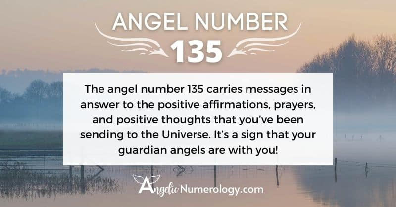 Angel Number 135 Meaning
