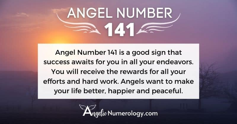Angel Number 141 Meaning