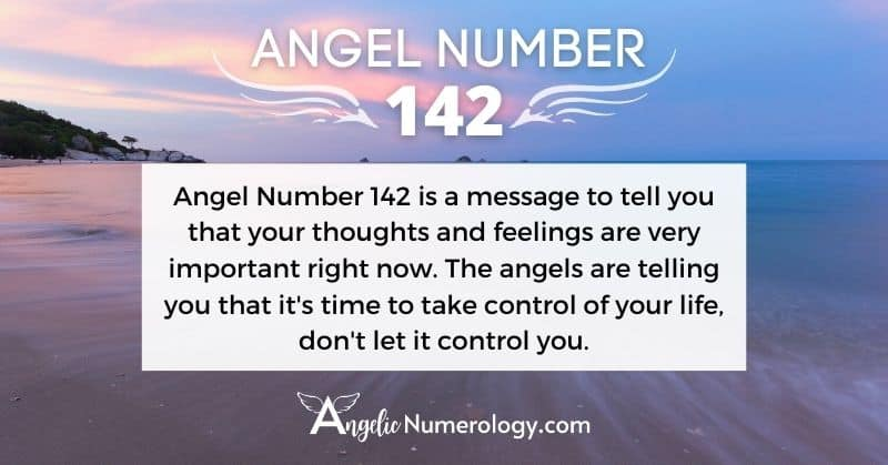 Angel Number 142 Meaning