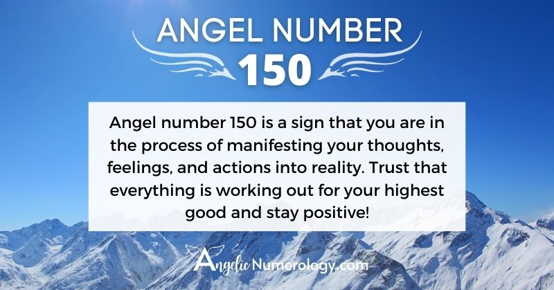 150 Angel Number Meaning