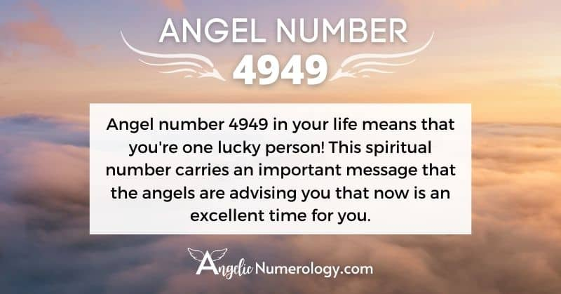 Angel Number 4949 Meaning